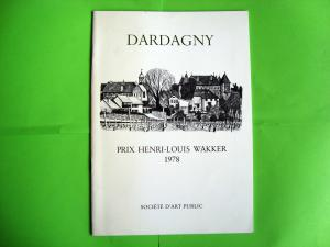Plaquette Dardagny, Prix Henri-Louis Wakker 1978