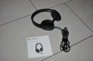 Casque Logitec USB Headset H540