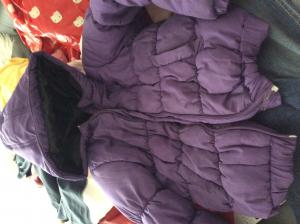 Veste doudoune fille taille 134