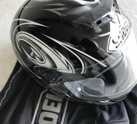 Casque moto noir SHOEI taille S 55/56 cm