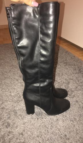 Bottes cuissardes noires taille 36