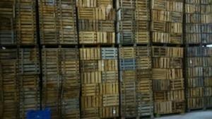 Lot de caisse en bois vintage - Rayon