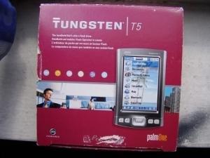 Ordinateur de poche Tungsten T5