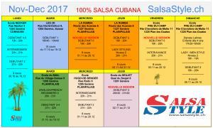 cours salsa nouvelle session débutant