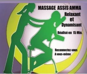 Massage AMMA Relaxant et Énergisant Habillé Assis
