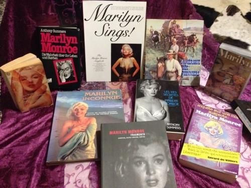 Marilyn Monroe: lot matériel d