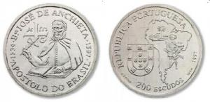 200 Escudos - José de Anchieta