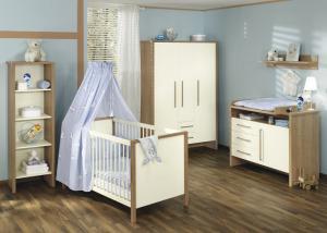 Chambre de bébé/petit enfant complète Paidi Rico