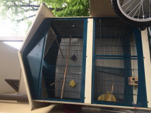Cage oiseaux 1,70 hauteur