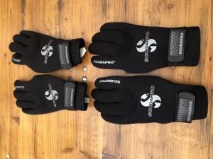 2 paires de Gants de plongée ScubaPro