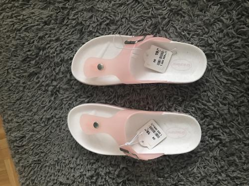 Sandales rose taille 38