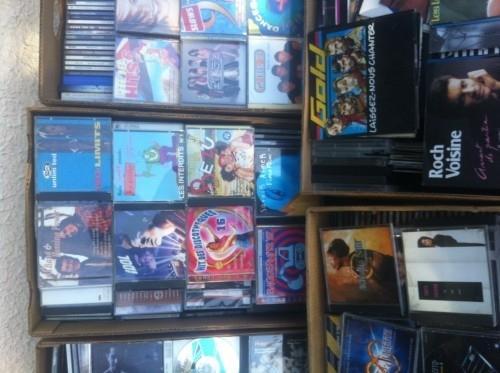 Gros lot de CD + disques 45 T