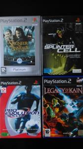 A vendre jeux PS2 en pafait état de fonctionnement!