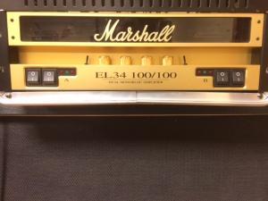 Ampli marshall el34 100 100