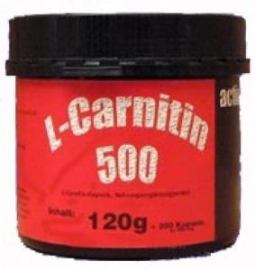 L-Carnitine Burner 500 : 200 Capsules