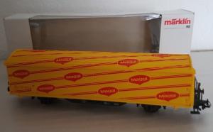 Märklin HO 4835 Hbis wagon couvert Maggi CFF SBB