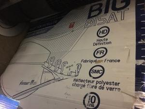 Parabol Visiosat HD Big Bisat