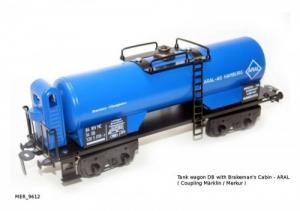 Tank wagon db with brakeman