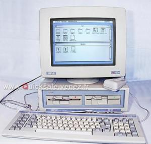 PC Amstrad 1512 SD de 1987 (Rare)