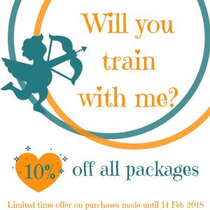10% off all Personal Training packs!