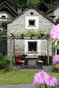 Tessin, Rustico idyllique de vacances près de Locarno