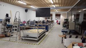 Location d'un atelier de mécanique et prototypage