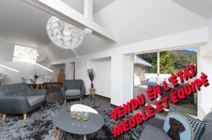 Fr-Vosges-Apt duplex NEUF- 116m2  meublé