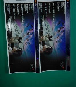 2 billets concert GORILLAZ Geneve