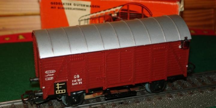 Märklin HO 4506 Wagon à marchandise couvert DB Gmh 39
