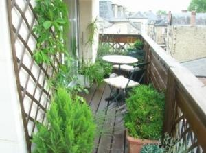 Aménage balcon, terrasse, fenêtre