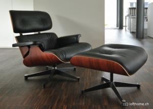 Lounge Chair et Ottoman Eames Vitra
