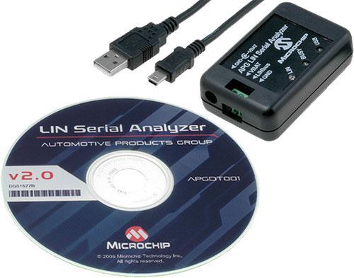 LIN Serial Analyzer APGDT001-ND