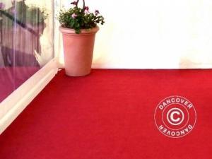Teppich 2x12m Rot, 400g