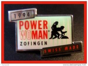 Pin´s Power Woman 1994 Zofingen