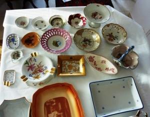 porcelaine - raviers, plats, bols