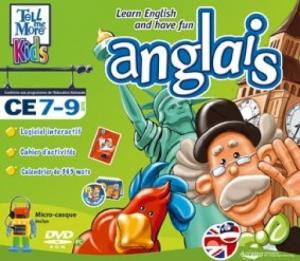 Tell Me More Kids Anglais (7-9 ans)