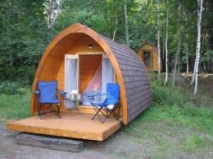 Les Refuges cabanes Huttes chalets