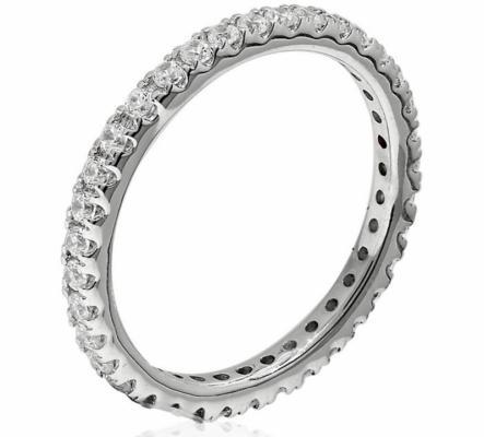 Bague Neuve Or Blanc et diamants