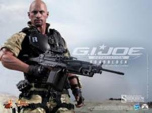 Hot toys Gi Joe (dwayne johnson) roadblock