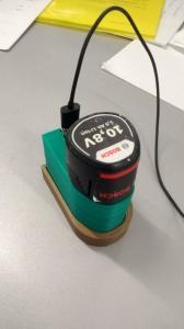 Imprimante 3D delta et ordinateur