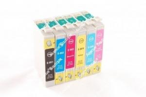 Pack 6 cartouches compatibles E-807