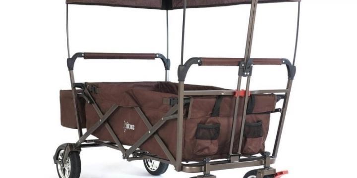 FUXTEC Chariots à main CT-500 BRUN
