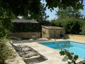 Gîte 4pers piscine à Roussillon,Luberon, Provence