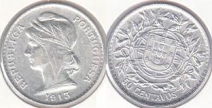 20 Centavos - 1913 Argent