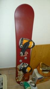 Joli SnowBoard & roller fille inline