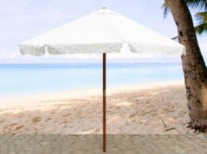 Parasol, obrelle, écran en bois - TOSCAN