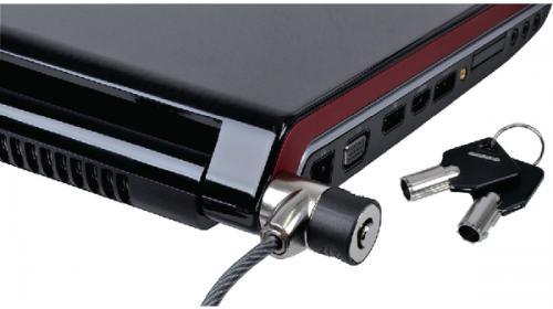 Serrure pour notebook avec clé, MX-509, Maxxtro