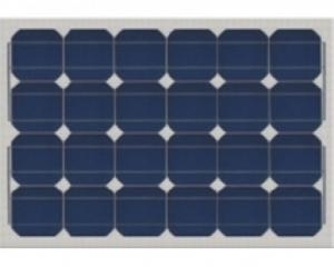 Panneau solaire monocristallin 50 W neuf